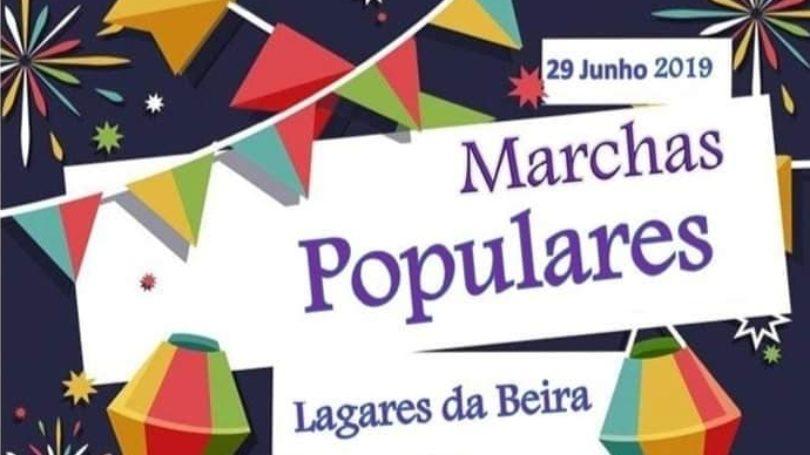 Marchas Populares em Lagares da Beira