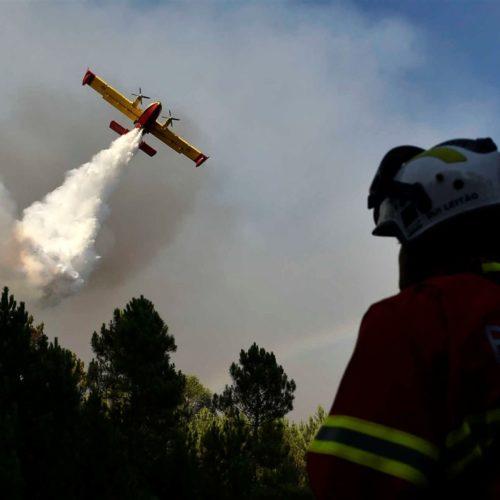 Meios aéreos de combate a incêndios saem de Seia por razões de segurança
