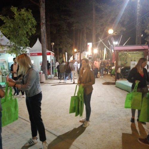 EXPOH foi palco de ação de sensibilização ambiental