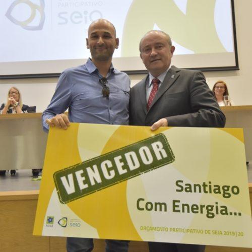 """""""Santiago Com Energia"""" reúne maior votação da 4ª edição do Orçamento Participativo de Seia"""
