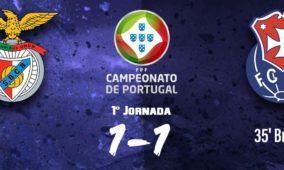 FCOH conquista um ponto no primeiro jogo do campeonato frente ao B. Castelo Branco