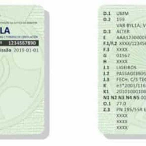 Entra hoje em vigor o Documento Único Automóvel