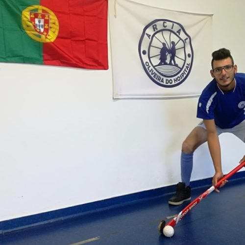 Atleta da ARCIAL representa Portugal no Campeonato da Europa de ParaHóquei
