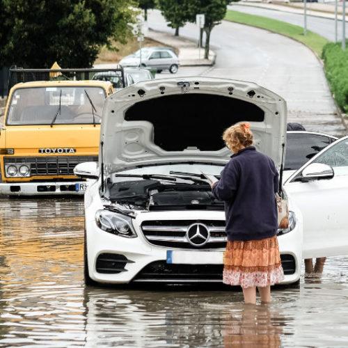 Chuva torrencial provocou 22 inundações na cidade De Viseu
