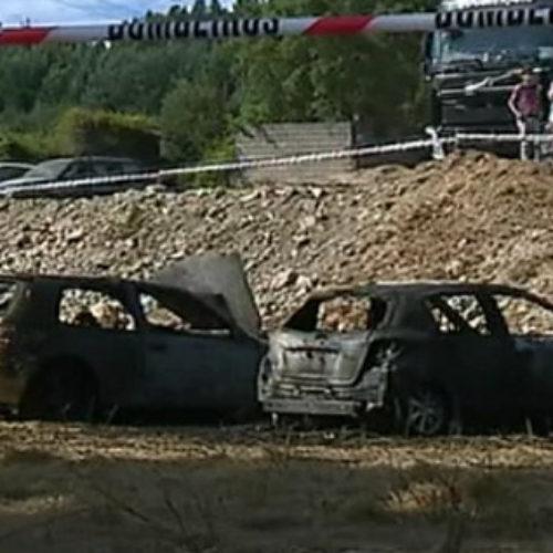 Incêndio em Góis provocou dois feridos e destruiu vários automóveis