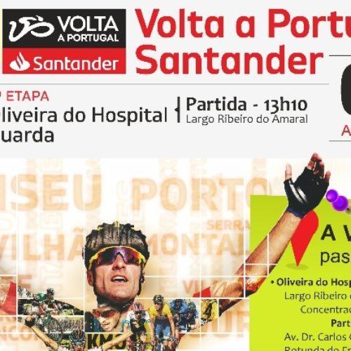 Partida da quinta etapa da 81.ª Volta a Portugal faz-se em Oliveira do Hospital