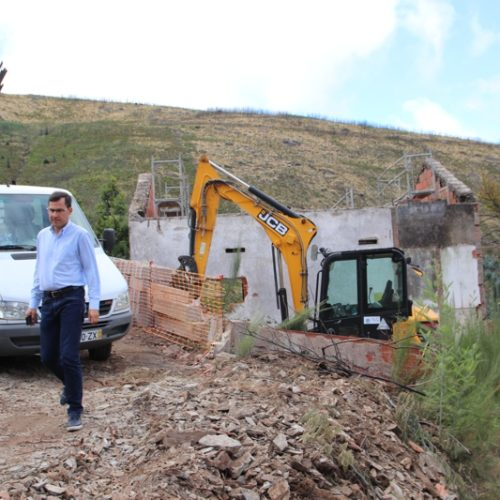 Câmara de Arganil recupera edifícios Municipais destruídos pelo incêndio