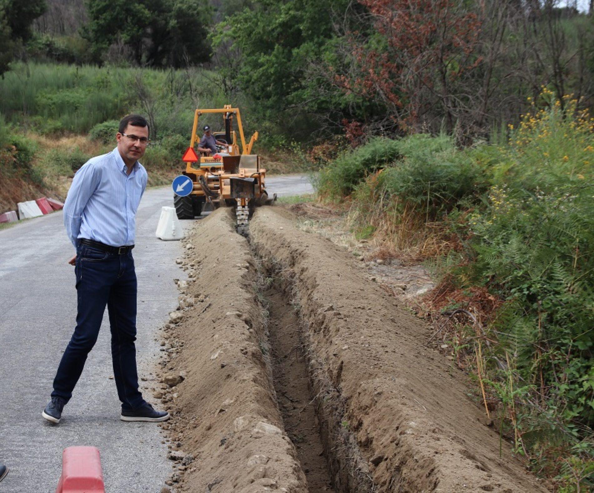 Câmara de Arganil investe mais de 300 mil euros na melhoria do abastecimento de água
