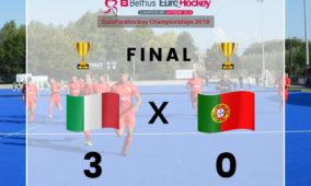 Portugal perde final do Europeu de Parahóquei frente a Itália