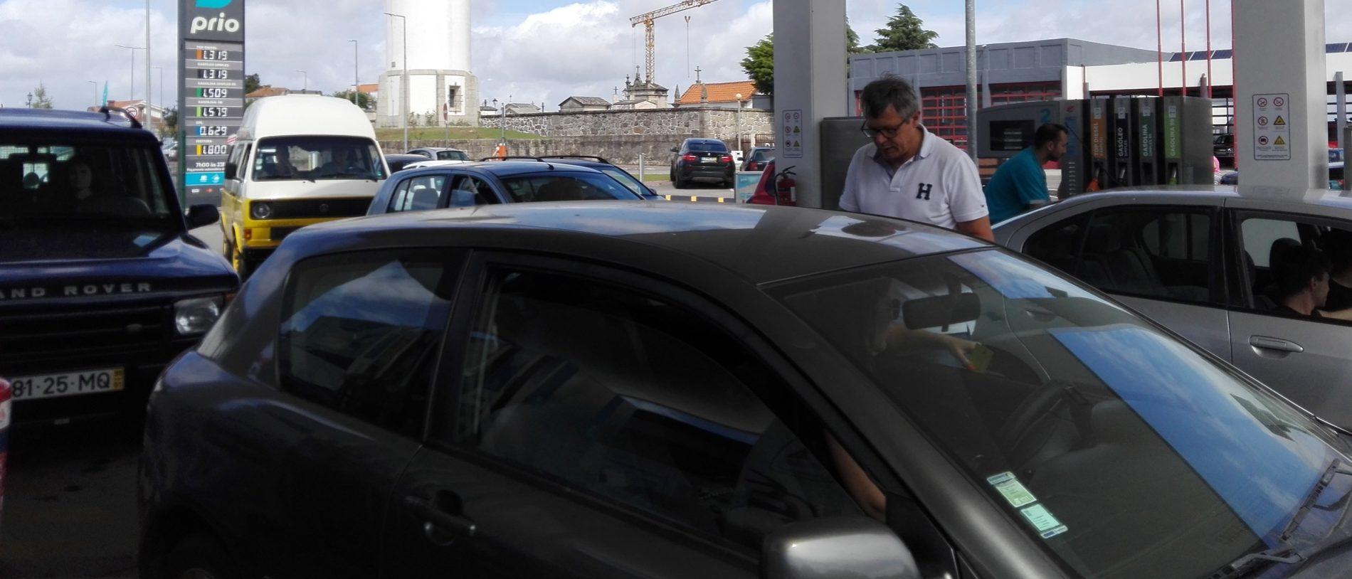 Anúncio de greve leva a corrida aos postos de combustível em Oliveira do Hospital