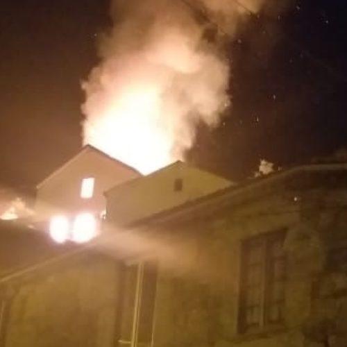 Casal ficou desalojado após incêndio em habitação em S. Gião