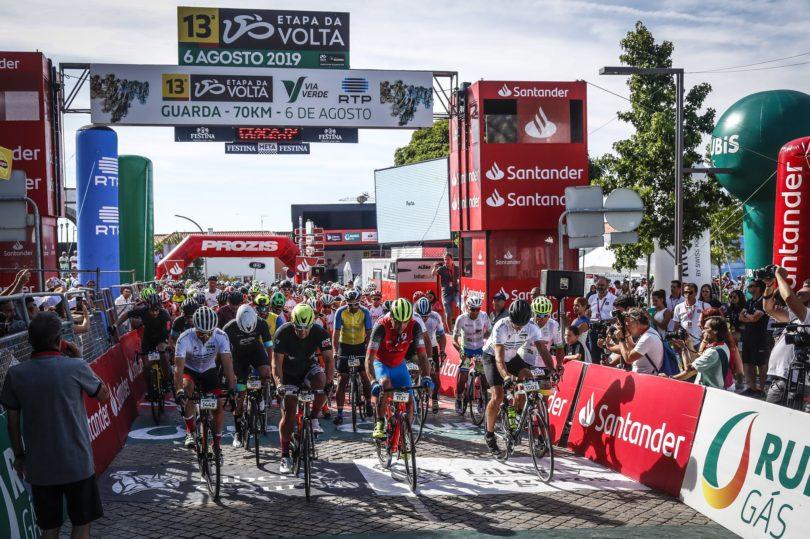 Cicloturistas invadiram região Serra em dia de descanso da Volta. Hoje os ciclistas partem de Torre de Moncorvo até Bragança.