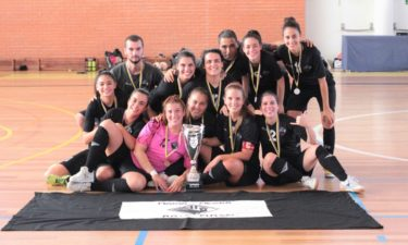 Futsal feminino: Académica vence Taça de Honra da AFC
