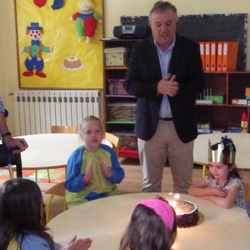 """Alexandrino quer voltar a ver JI com """"10, 15 ou 20 alunos"""". Autarca prepara arranque de novo centro escolar na cidade (com vídeo)"""