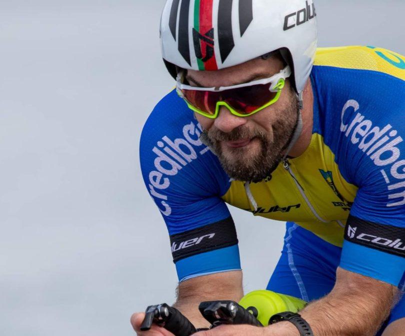 Rafael Gomes liga Chaves a Faro em bicicleta em homenagem a irmão que vence quarto tumor maligno