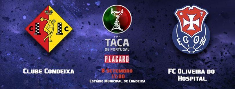 FCOH disputa 1ª eliminatória da Taça de Portugal frente ao Condeixa
