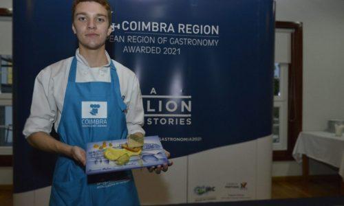 Receita de Arganil representa região de Coimbra em concurso europeu de jovens chefs