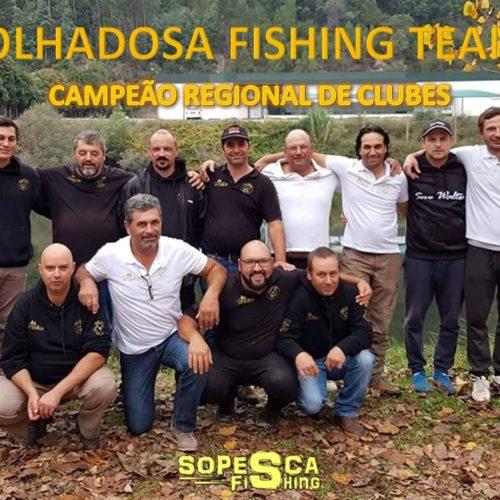 Folhadosa Fishing Team é Campeão Regional de Clubes