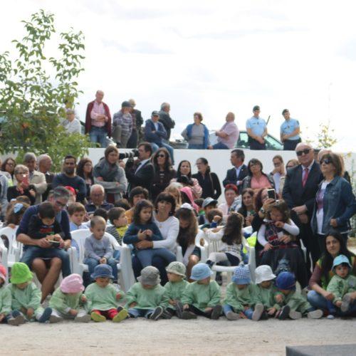 Presidente Marcelo inaugurou escola ardida há dois anos em Midões
