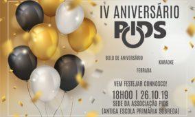 PIDS comemora 4º aniversário