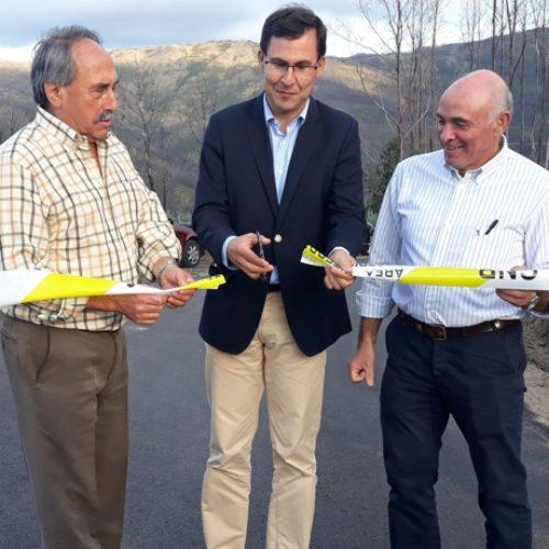 Câmara de Arganil inaugura reabilitação de estrada afetada pelo incêndio