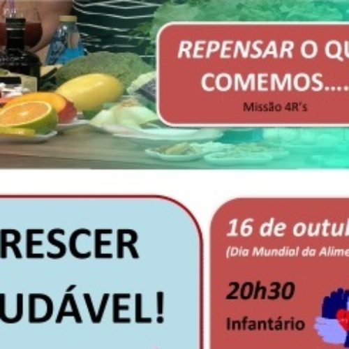 """FAAD promove ação de sensibilização """"Repensar…o que comemos"""""""