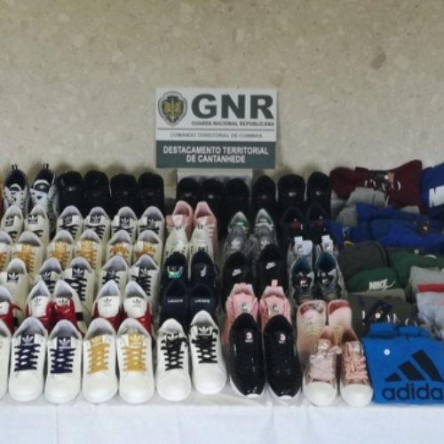 GNR apreendeu artigos contrafeitos no valor de cinco mil Euros