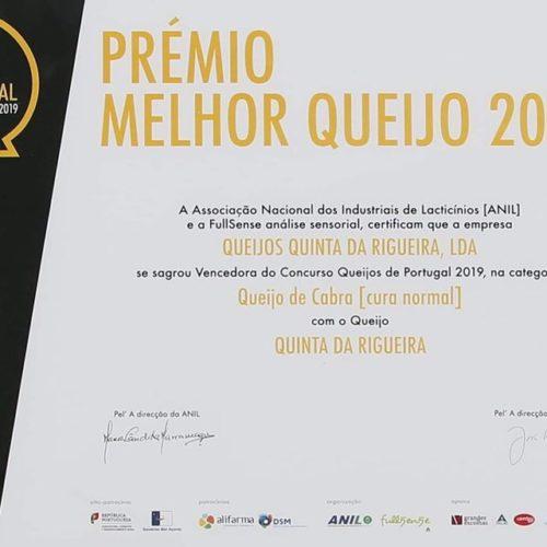 """Quinta da Rigueira vence títulos de """"Melhor Queijo Cabra Cura Normal"""" e """"Melhor Requeijão Cabra"""" e menção honrosa em concurso da ANIL"""
