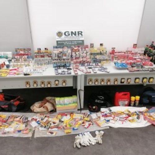 Nelas: GNR detém cinco suspeitos de assalto a posto de combustível