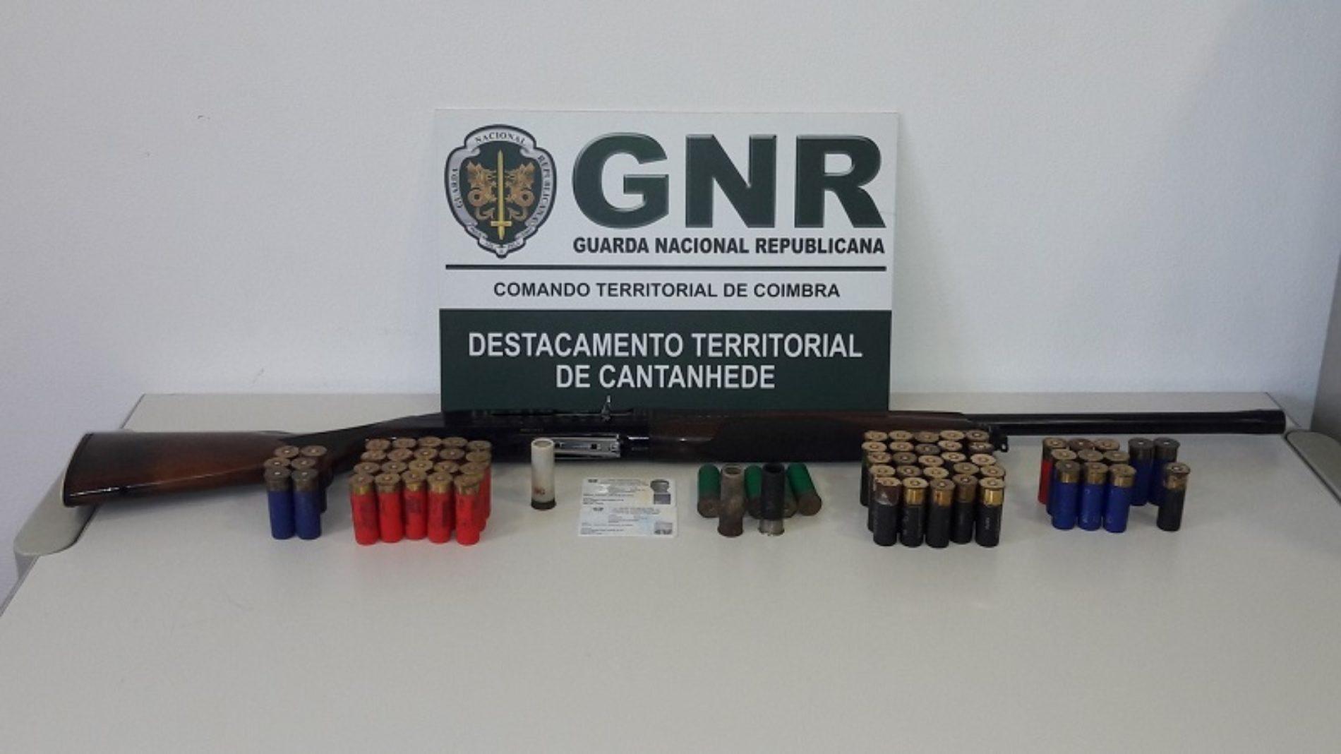 Cantanhede: Homem detido por posse de arma proibida na sequência de ameaças