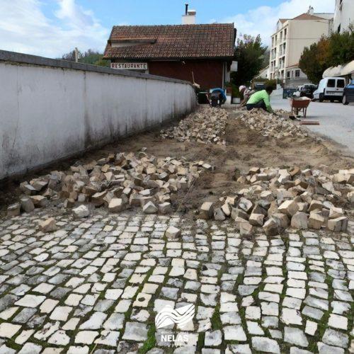Município de Nelas realiza obras de requalificação urbana nas Caldas da Felgueira