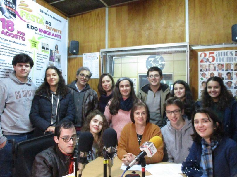 """Programa """"A Escola e o Meio"""" na Rádio Boa Nova"""