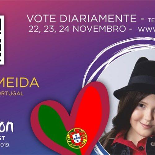 É de Gouveia a representante de Portugal no Festival da Eurovisão da Canção Júnior