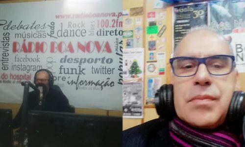 """Jorge Ramos recebeu Luís Alves no espaço """"Voz dos Autores"""""""