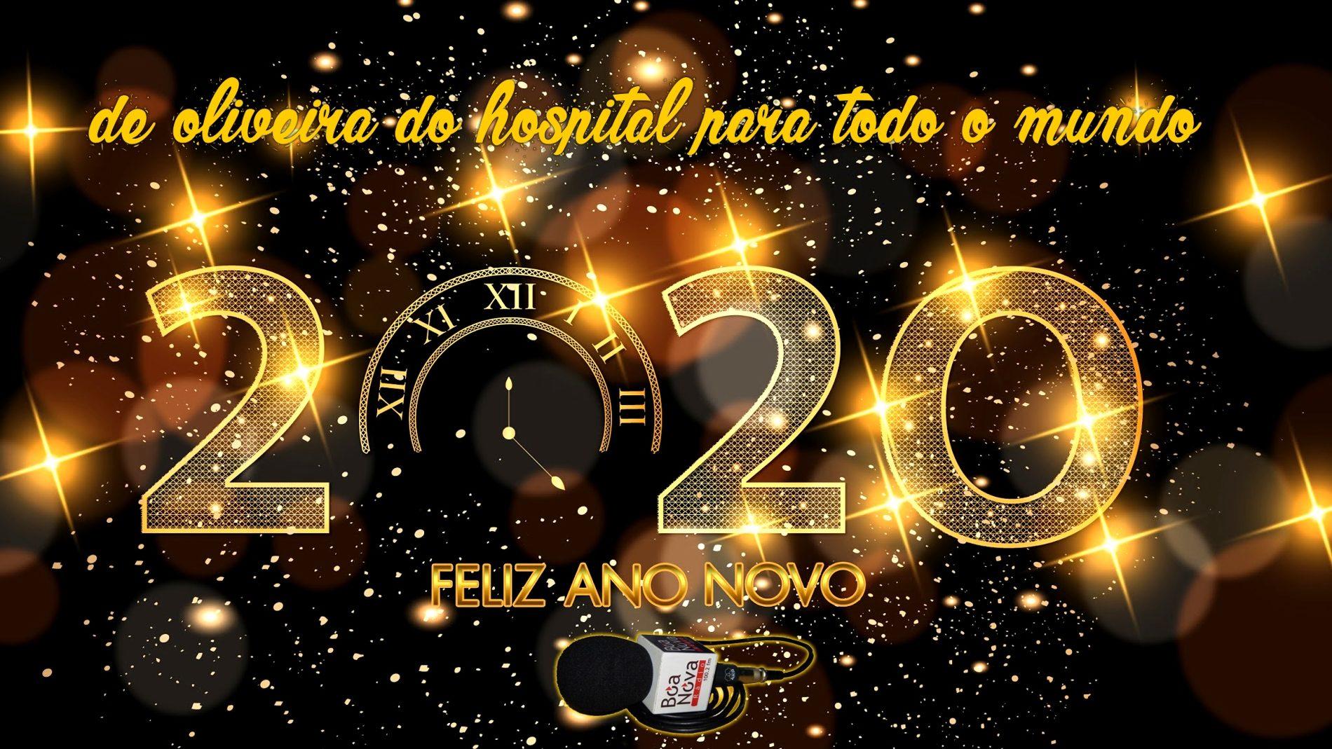 Toda a equipa da Rádio Boa Nova, deseja-lhe um excelente ano de 2020