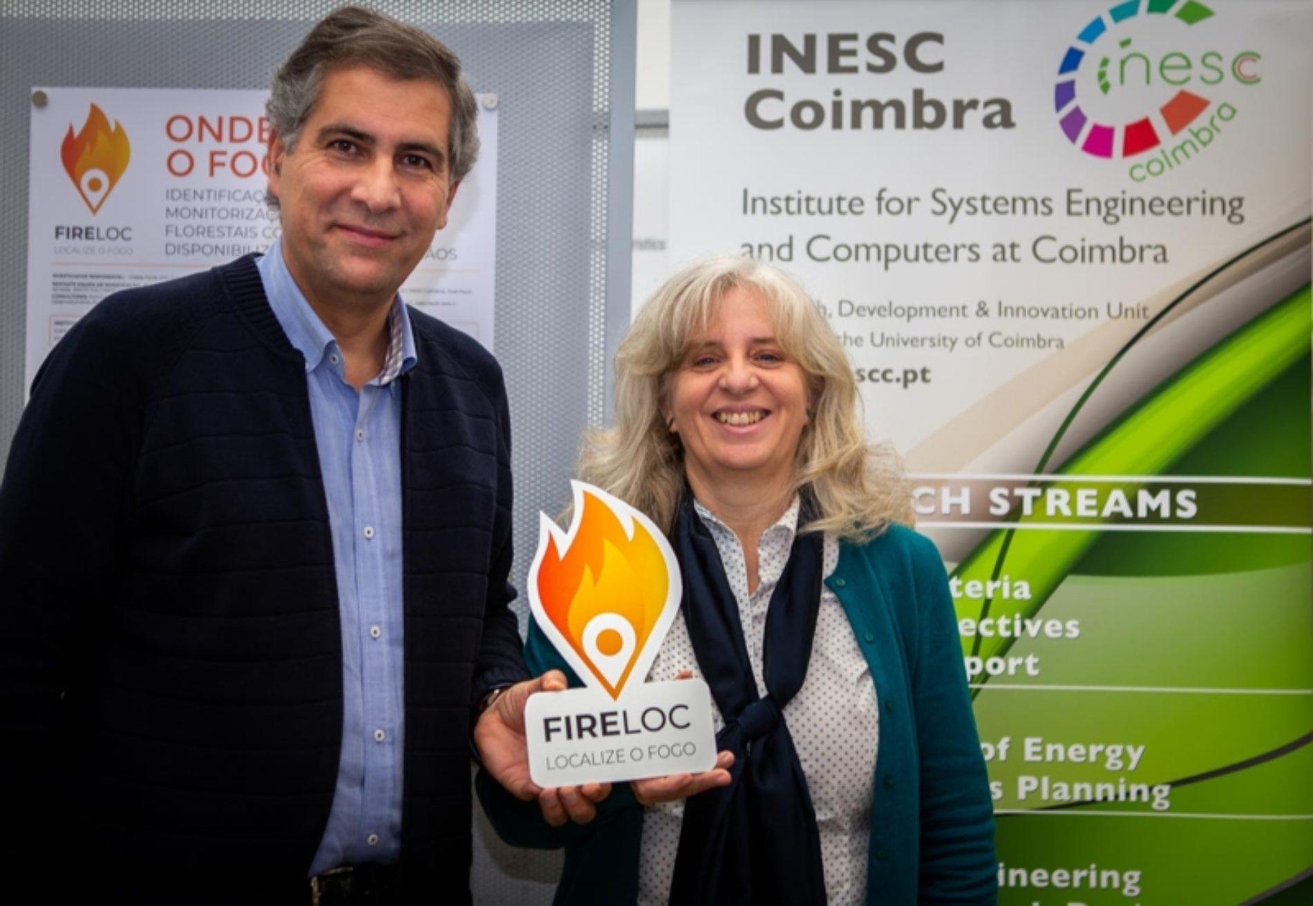 Investigadores do INESC Coimbra e da Universidade de Coimbra desenvolvem aplicação para ajudar a localizar o fogo