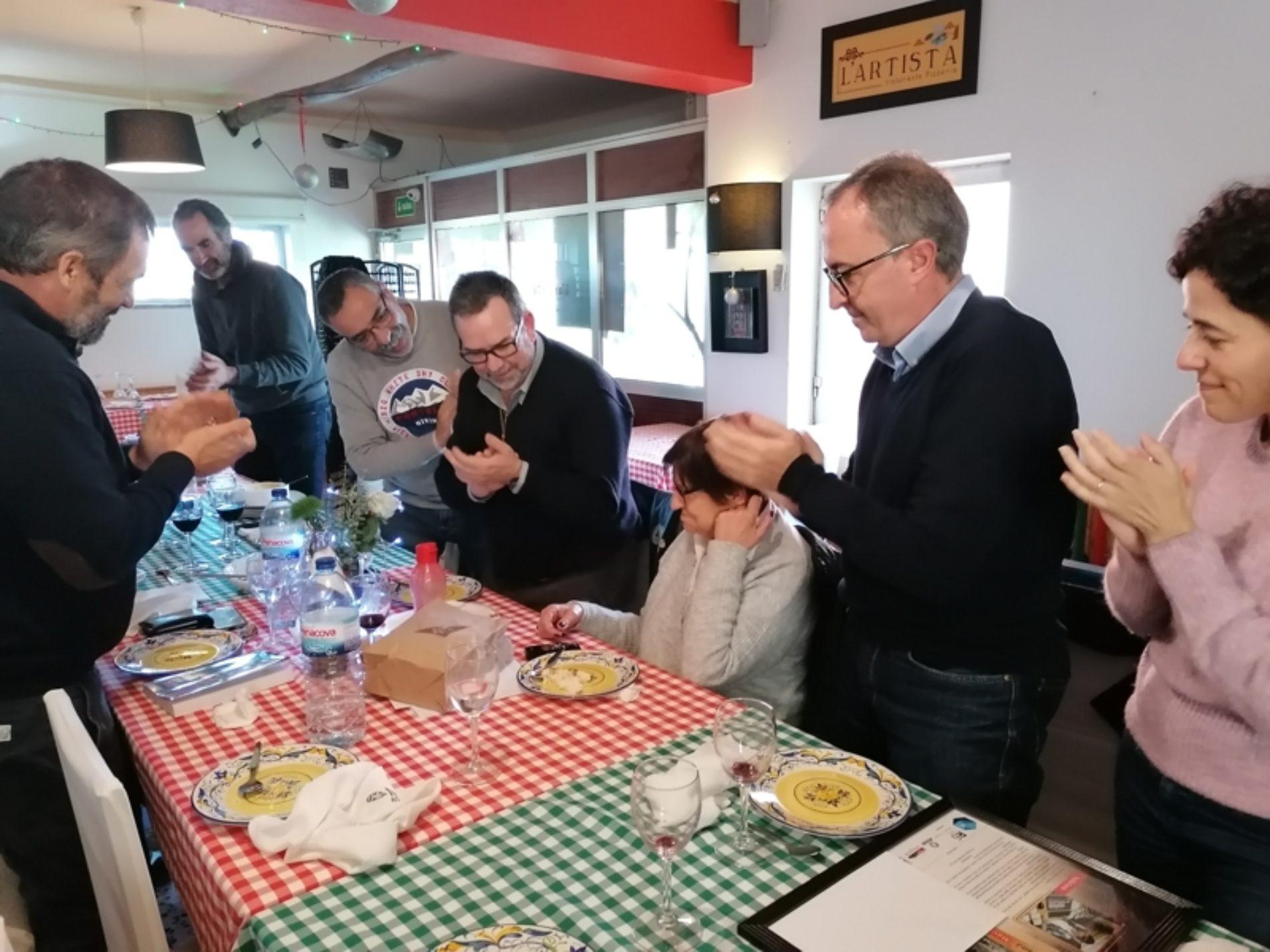"""Organização do Livro """"Memórias"""" reuniu-se em almoço convívio no restaurante L'Artista"""