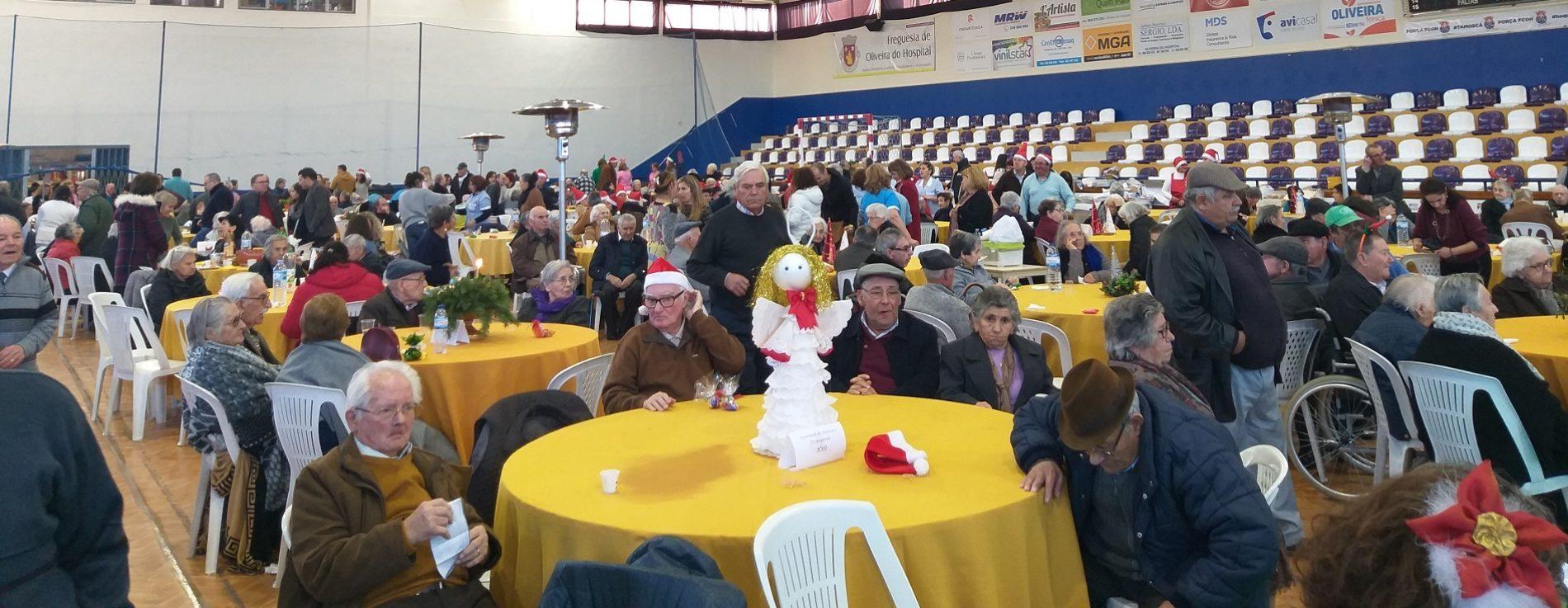 Natal Sénior juntou cerca de 400 idosos das IPSS do concelho de Oliveira do Hospital
