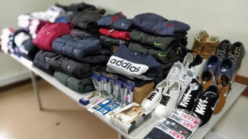Caldas da Rainha: GNR apreende artigos contrafeitos no valor de mais de 30 mil euros