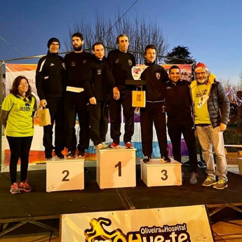 Maratona Clube Vila Chã participou nas corridas São Silvestre de Oliveira do Hospital, Serra da Estrela e Pinhel