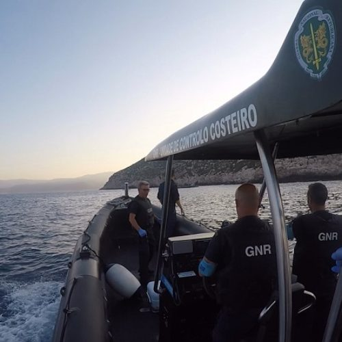 GNR resgatou 763 migrantes nas missões da Frontex realizadas em 2019