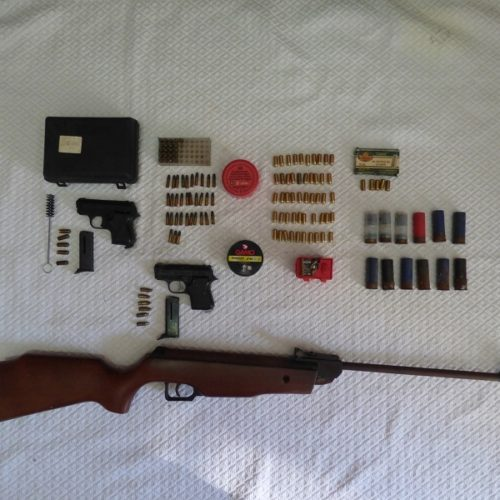 Montemor-o-Velho: Apreendidas 132 munições e três armas de fogo por violência doméstica