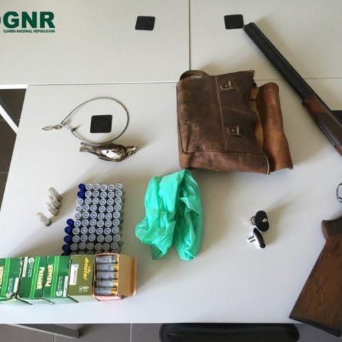 Gouveia: Caçador detido por caça ilegal
