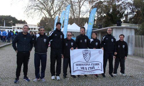 Maratona Clube Vila Chã participou no Campeonato Nacional de Estrada em Lisboa