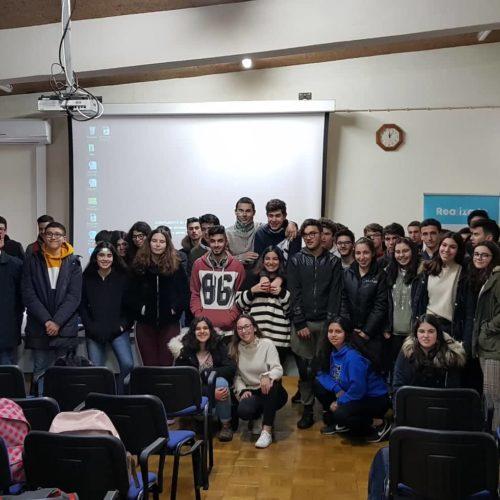 "Jornalista Jorge Pessoa Silva participou em ""Teen Talk"" na Escola Secundária de Arganil"
