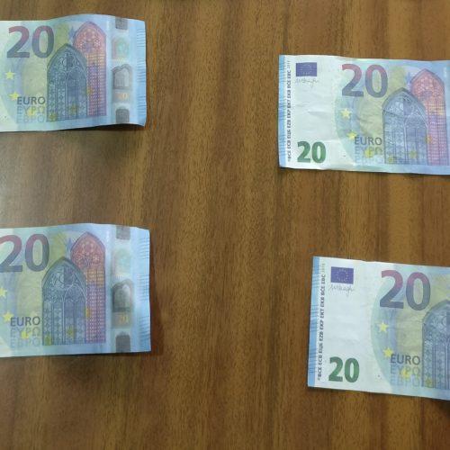 Região: Mulher detida por pagar raspadinhas com notas falsas