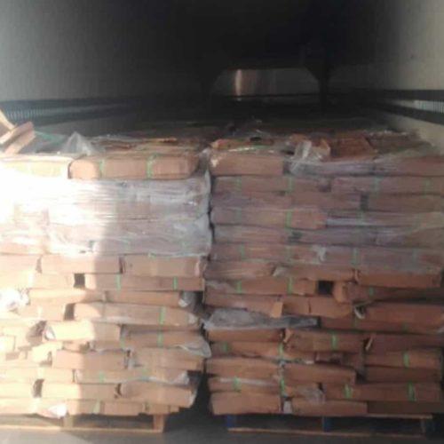 GNR apreendeu 63 toneladas de pescado congelado em Ílhavo