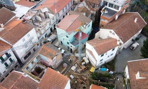 Nelas avança com reabilitação urbana na Rua Gago Coutinho
