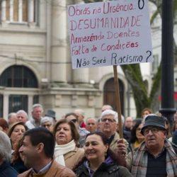 Viseu: Cerca de 300 pessoas exigiram alargamento da urgência e criação de centro oncológico