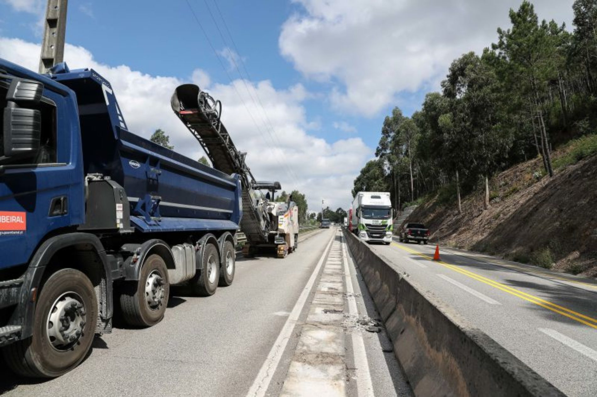 Governo admite atrasos nas obras de requalificação do IP3